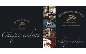 Carte Cadeau Restaurant Au Cerf